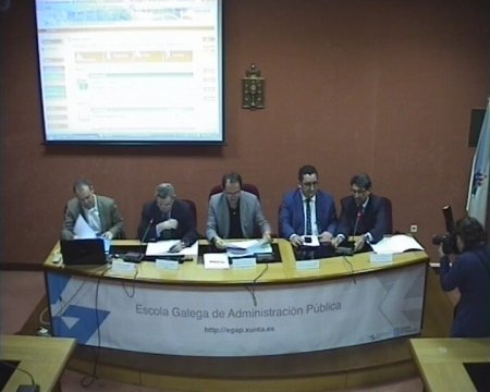 Imaxe - Rolda de prensa de presentación dos primeiros cursos en liña de linguaxe administrativa